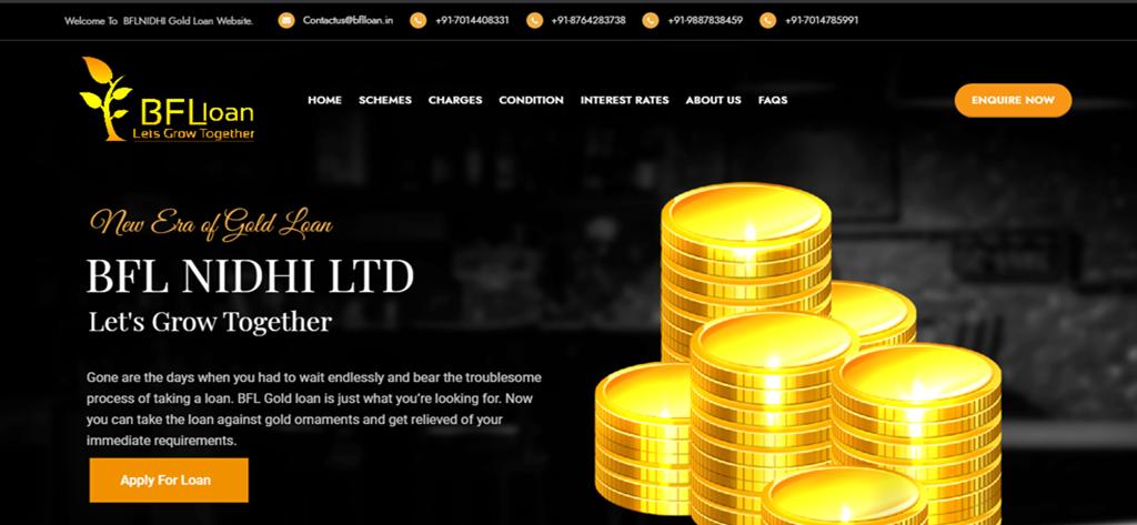 BFL NIDHI – A Gold Loan COMPANY